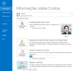 Como acessar as regras do outlook?